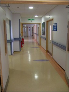 Picture of the theatre and laboratory suite at the Centre for Reproductive Medicine at St Bartholomew's Hospital.