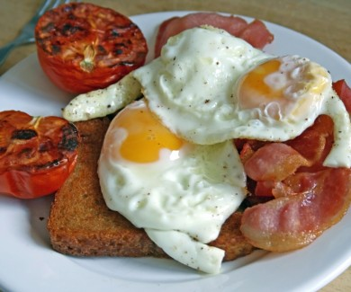 Image of a full english breakfast