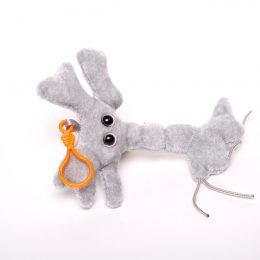 picture of brain cell keychain