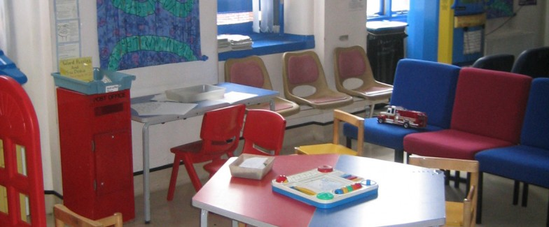 Picture of a Children's Outpatients Department.