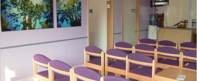 Picture of The consulting suite at The Centre for Reproductive Medicine at St Bartholomew's Hospital