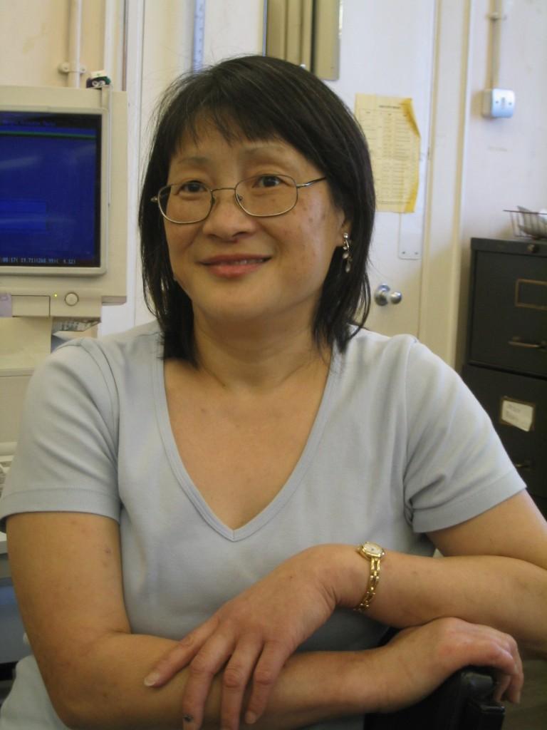 Photo of Helen Corrigan, Lung Function Technician.