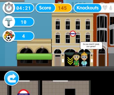 Gene Quest screen shot