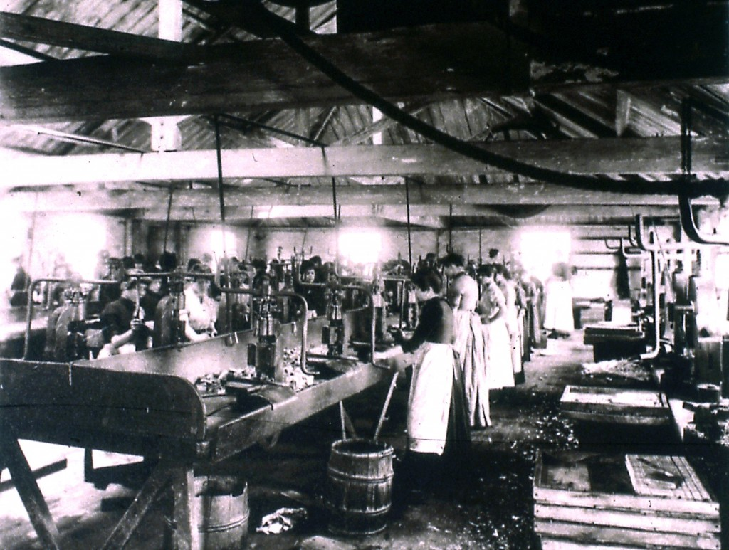 Photo of Match workers Bryant May c.1890