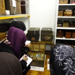 Young people researching at the Science Museum Archives